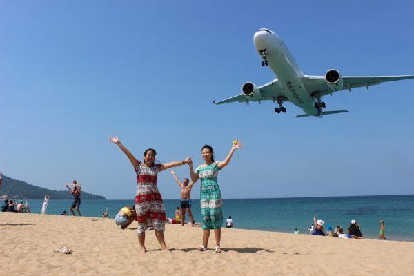 飛行機と写真を撮ろう!